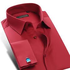 aliexpress com buy men u0027s non iron slim fit french cuff dress