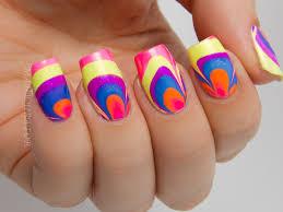 water marble nail art letters www sbbb info