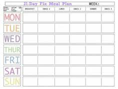 printable meal planner with calorie counter here is a blank meal plan template you can use diet plan printable