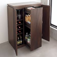 Portable Kitchen Storage Cabinets Monaco Bar Cabinet In Dining Kitchen Storage Crate And Barrel