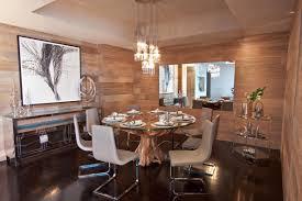 dining room apartment interiors by amy seminski interior design