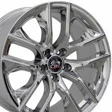 Black Chrome Wheels Mustang 20