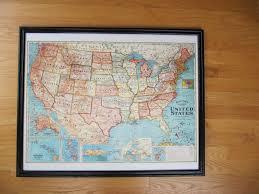 United States On Map by Everyday Organizing September 2013