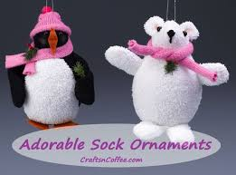 tinsel tuesdays how to make a sock snowman ornament crafts n