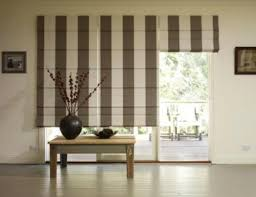 individual roman blinds for each window section window coverings
