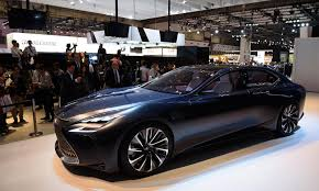 lexus sedan concept toyoda says sexiness is in utility is out for lexus vehicles