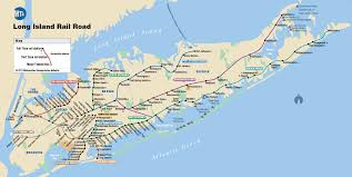 Picture Of Map Mta Lirr Lirr Map