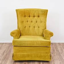 Yellow Recliner Chair Yellow Vintage Recliner Chair All Home Decorations Comfortable