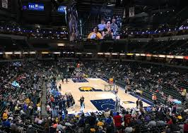 Basketball Courts With Lights Pacers Enhance Look Of Home Games With New Led Lighting System