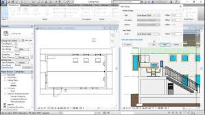 revit tutorial view range view range in reflected ceiling plans