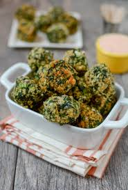 easy spinach balls