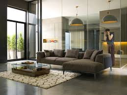 Contemporary Sectional Sofa With Chaise Seating Dellarobbia Furniture U0026 Calligaris San Francisco Ca