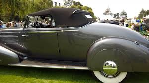 1934 cadillac v16 style 5835 2 passenger convertible coupe youtube