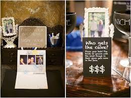 Unique Backyard Wedding Ideas by Unique Guestbook Ideas Guests Sign Their Names On A