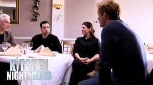 gordon meets with the owners of trobiano u0027s kitchen nightmares