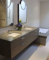 Ikea Bathroom Ideas Brown Contemporary Floating Vanity Ikea For Cozy And Comfy