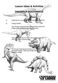 worksheets dinosaurs at large
