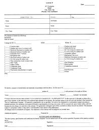 printable blank bid proposal forms free paper doll printables