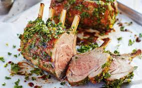 honey roast rack of lamb