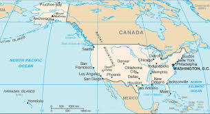 map of united states including us islands united states of america usa country overview