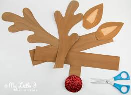 free printable reindeer activities cute printable reindeer antlers to cut out and paint from my little