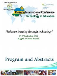 rwanda international conference on technology in education ricte