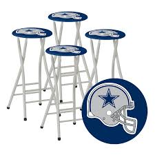 Dallas Cowboys Table Shop Best Of Times Set Of 4 Dallas Cowboys 30 In Bar Stools At