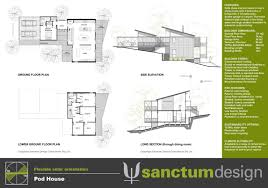 steep slope house plans steep site house plans home decor design ideas