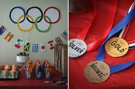 Olympic Games Decorations A 3rd Birthday Party For A Little Olympian Tar Tryin U0027