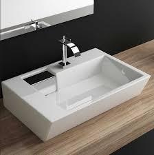 design handwaschbecken design waschbecken klein mit form eckig und tiefe 45cm