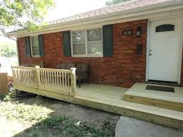 Back Porch Stairs Design Wood Front Porch Lovable Back Porch Stairs Design Best Ideas About