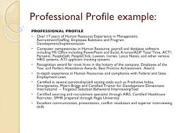 resume professional profile samples writing services fees