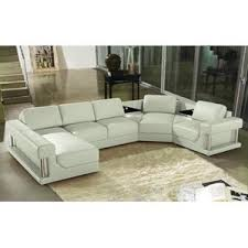 Contemporary Sectional With Chaise Modern Sectional Sofas Allmodern