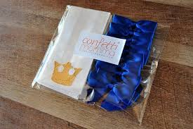 royal prince baby shower favors royal prince baby shower favor bags ships in 1 3 business days