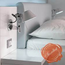 headboard reading ls bed furniture inspiring bedroom decoration with stainless steel