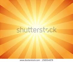 beautiful sun rays television vintage background stock vector