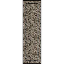 Leopard Print Runner Rug Animal Print Runner Area Rugs Rugs The Home Depot