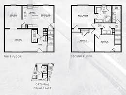 two story modular floor plans washington two story modular home 1 680 sf 3 bed 2 1 2 bath