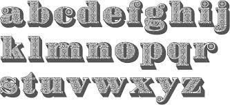 ornamental caps typefaces