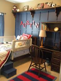 astonishing vintage style study desk added white lamp shade also