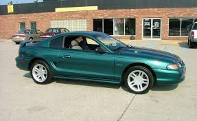 1996 mustang paint colors