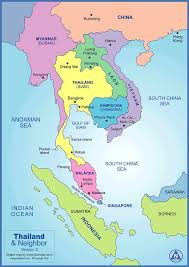 Map Of East Asia by Map Of Thailand Thailand Map And Travel Guide