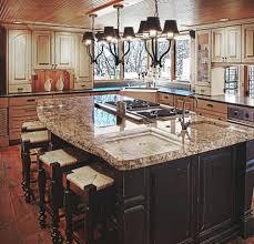 kitchen elegant kitchen island with sink and breakfast bar with