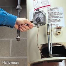 gas water heater without pilot light no water restore it yourself family handyman