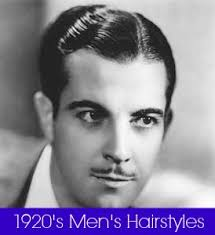 hairstyles from 1900 s 1920s mens hairstyles and products history