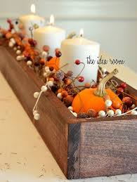 Decorate Table For Thanksgiving 19 Charming Thanksgiving Centerpieces For A Homestead Table Setting