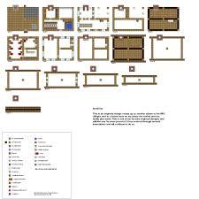 unusual 10 house floor plans minecraft small blueprint planskill