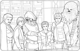 star wars princess leia coloring pictures pages regard star wars