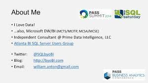 bus matrix u2026 the foundation of your data warehouse ppt video