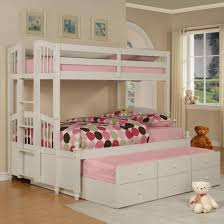 bunk beds with trundle for kids bedroom ideas decor